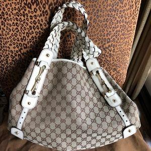 Gucci Pelham NWT Large Canvas Bag